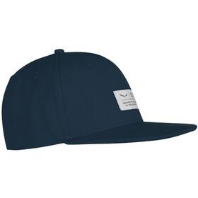 SALEWA Puez Canvas Flat Cap premium navy
